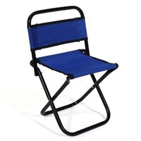 CONNECTWIDE Portable Folding Outdoor Fishing Camping Chair Oxford Cloth Chair with Backrest Carry Bag