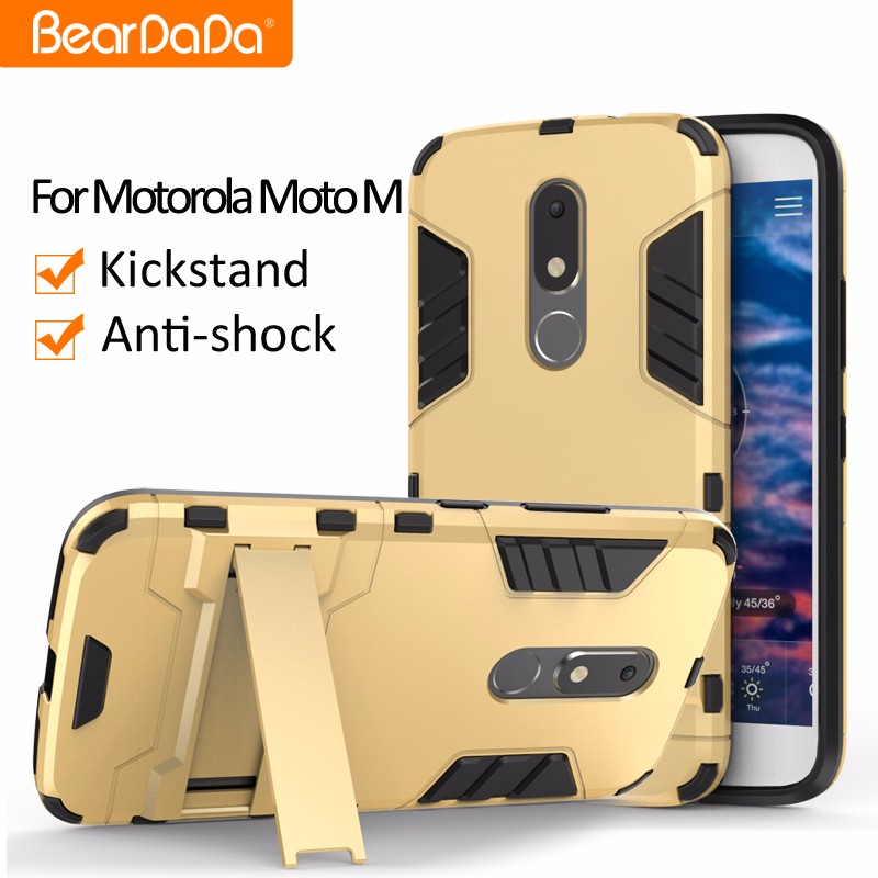 PC With TPU Perfect Combination cell phone cover for moto m