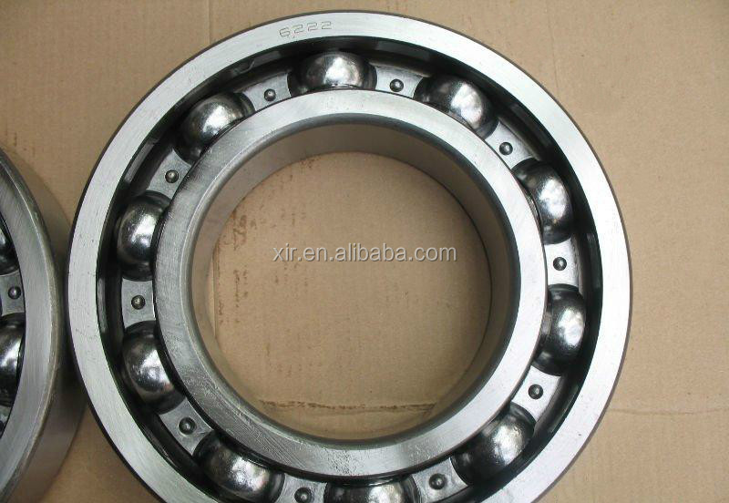OEM deep groove ball bearing 6222 chrome steel bearing ABEC-1