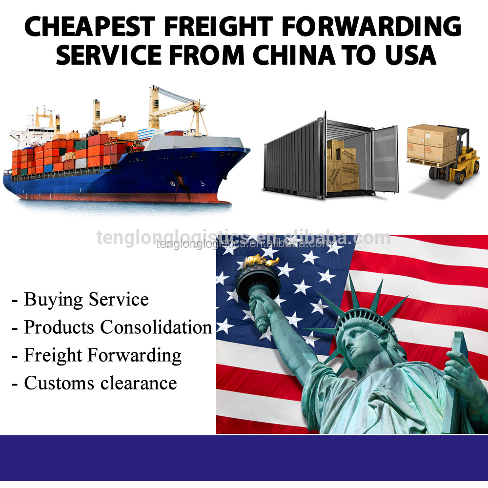 shipping forwarder sea freight rates china to USA