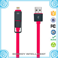 new arrival universal charger micro twisted wires usb cable roll up