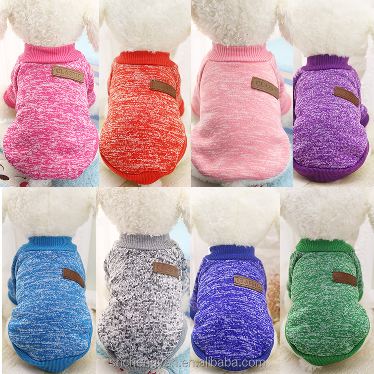 Dog Clothes Teddy Pet Cat Cashmere Sweater With Bichon Puppy Dog Two Feet Small Autumn And Winter Clothing