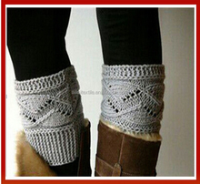 New Woman Cable Knit Boot Toppers/Fashion Cable Knit Leg Warmer Boot Socks/Hand Knitted Boot Cuffs