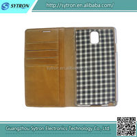 High quality genuine leather case for Samsung Note 3