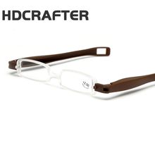 HDCRAFTER New Authentic High Quality Unisex 360 Degree Rotating Folding Reading Glasses