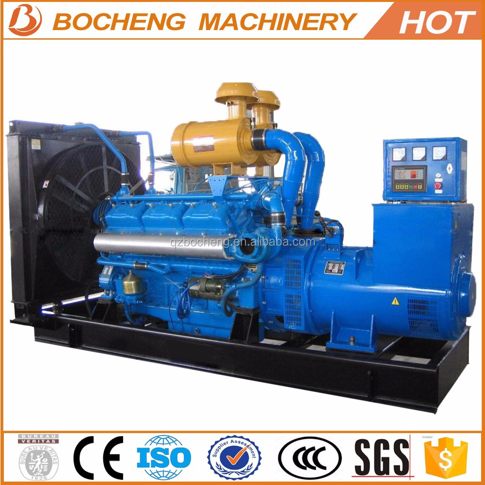 High quality low fuel consumption 100kw 125kva diesel generators sets