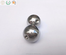 6mm 8mm 15mm 20mm 25mm stainless threaded steel ball with tapped hole