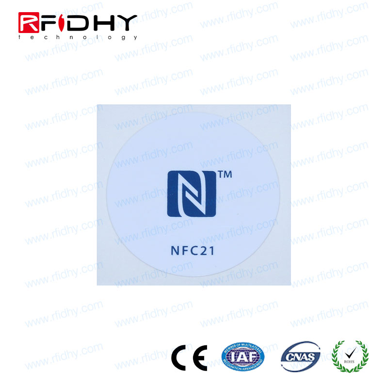 Different Color PVC Coloured Cheap NFC RFID Custom Print NFC Tag