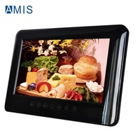 Mini 9 inch Car Headrest Portable DVD Player with MP3