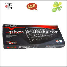 2014 Top sale cheap paper box for keyboard