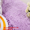 long pile chenille absorbent and anti-slip dog mat