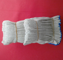 White cotton working gloves/ ansell gloves