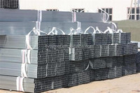 Hot dip galvanized square / rectanular tube with competitive price