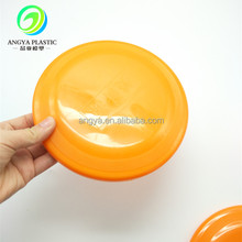 Plastic flying dics for kids 18 CM cartoon sport toys promotional custom frisbee
