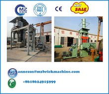 2017 New Style Hydraulic Coal Gangue Burner Brick Machine Equipment