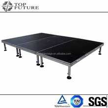 Durable best sell plywood platform aluminum modular stage