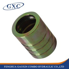 00401Ningbo Factory Supply Brass Ferrule For 4SH/20-32 Hose, Aluminum Ferrule