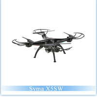 Original Syma X5SW Explorers 2 Wifi FPV 2.4G RC Quadcopter with Camera RTF Support Mobile Phone Wifi Remote Control Helicopter