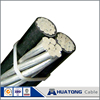 Fiber optic cable low voltage xlpe ACSR conductor Triplex Aerial Bundle cables Voluta with high quality