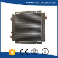 Hot selling top seller air/oil plate-fin heat exchanger for hydraulic power unit
