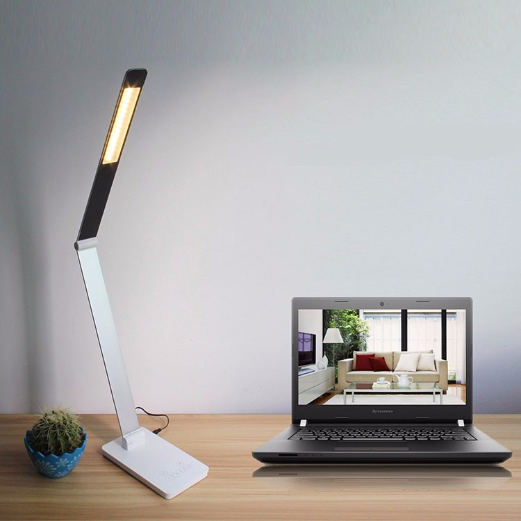 Hot-sale style modern touch metal hotel reading led light table lamp