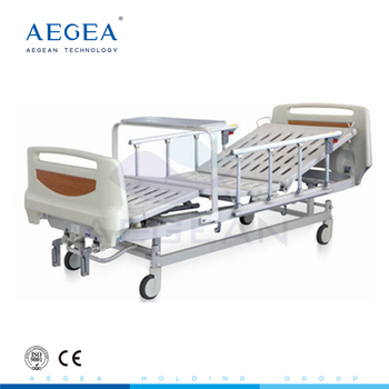 AG-BYS105 nursing 2 functions manual movements cheap hospital bed