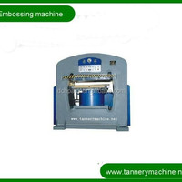 Leather Machine Hydraulic Emboss Number Plate