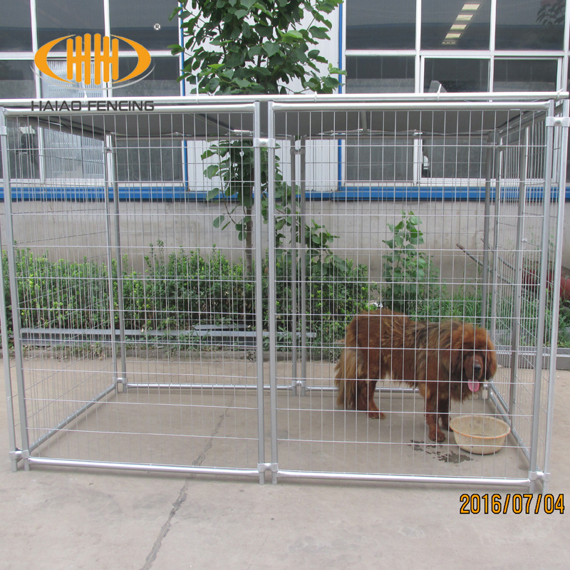 China supplier wholesale welded wire mesh iron fence dog kennel
