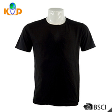 OEM blank Basic Length oversized t shirt Hem Black basic Oversized Men t shirt