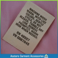 washing care label symbols customized any color