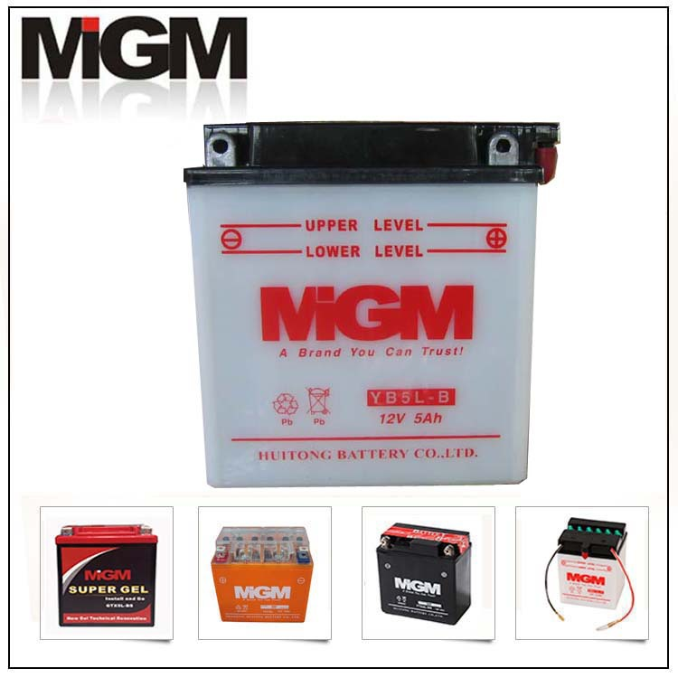 Factory motorcycle batteries for for yamaha motorcycle battery