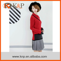 Oline shopping computer knitting warm ladies knitted sweater