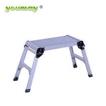 Customized Adjustable aluminium Portable 6.1cm length mobile Working Platform