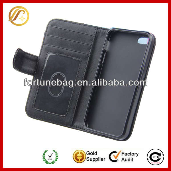 "Hot selling cheap case for iphone 5"" case wallet"
