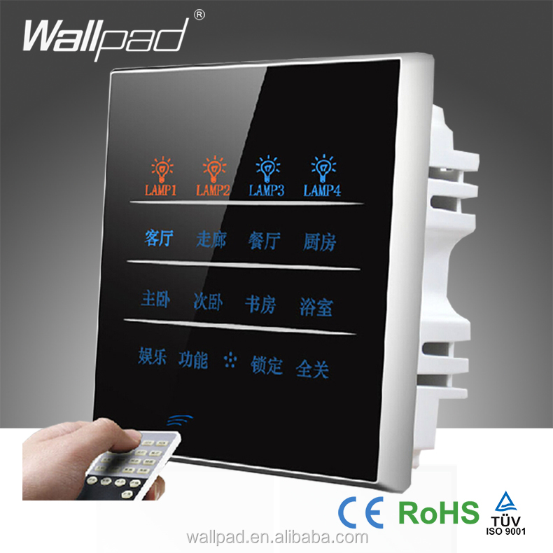 Home Automation Products Wallpad 20 Gangs Remote Control Touch Wall Electrical Switch