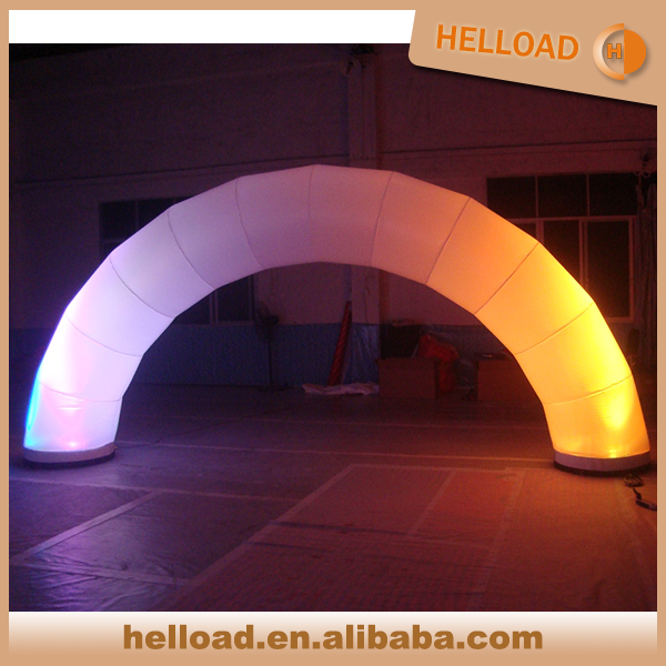 hot sale lighting decoration and advertising inflatable arch door for sale