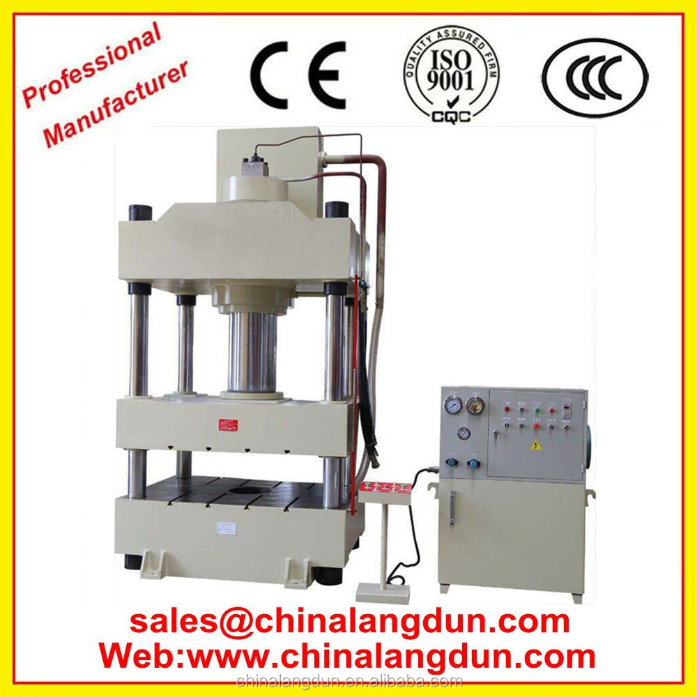 YL32 hydraulic press 200 ton for kitchen tools metal board deep drawing electro-hydraulic press