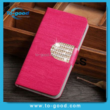 Free Sample! High Quality Diamond Wood Leather Mobile Phone Case Bumper Cover For Blackberry Z10