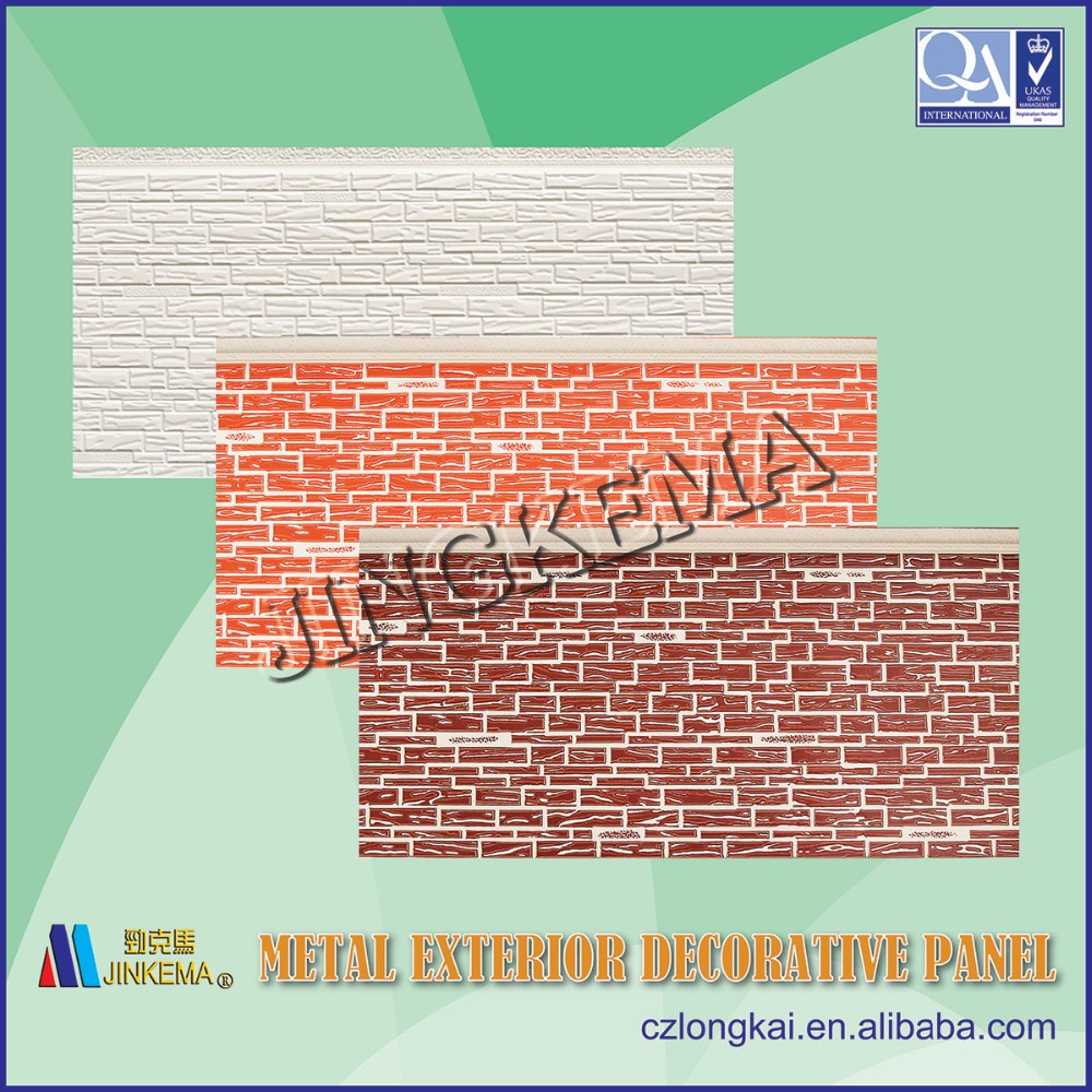 PU prefabricated wall panel for steel structure prefabricated houses, buildings, villas