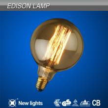 G95 e27 40/60W 4000k dimmable vintage led filament edison bulb lamp