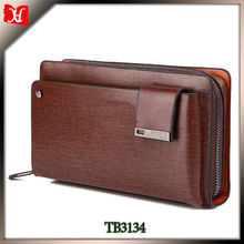 leather organizer fancy brand clutch wholesale wine purse