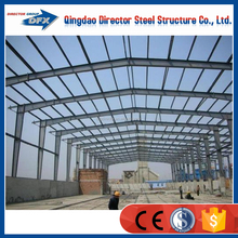 Metal prefabricated building green house steel frame