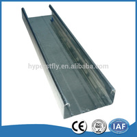 High quality galvanized a variety of light gauge steel joist dimensions