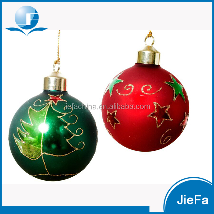 Wholesale colourful clear christmas balls tree