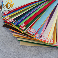 1mm thickness 200gsm colorful polyester felt for craft