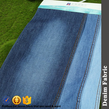 5.8oz light weight 100% cotton material for blue denim jean fabric