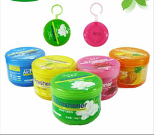 120 g wholesale hanging easier solid gel perfume air freshener cleaner purifier for home or toilet green living space