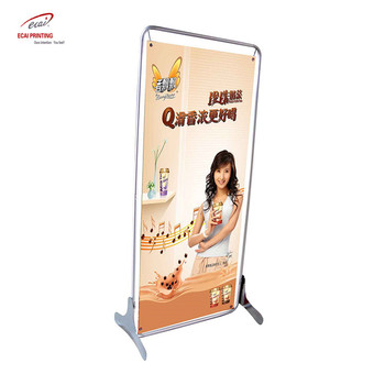 Ecai high quality hot selling door shape display stand with Metal rack