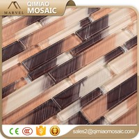 European Style Mix Colors Foshan Glass Tile Mosaic Drawing