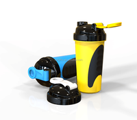 New product for sport bottle in bpa free plastic shake ball bottle